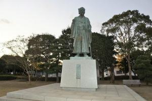 水戸光圀の銅像