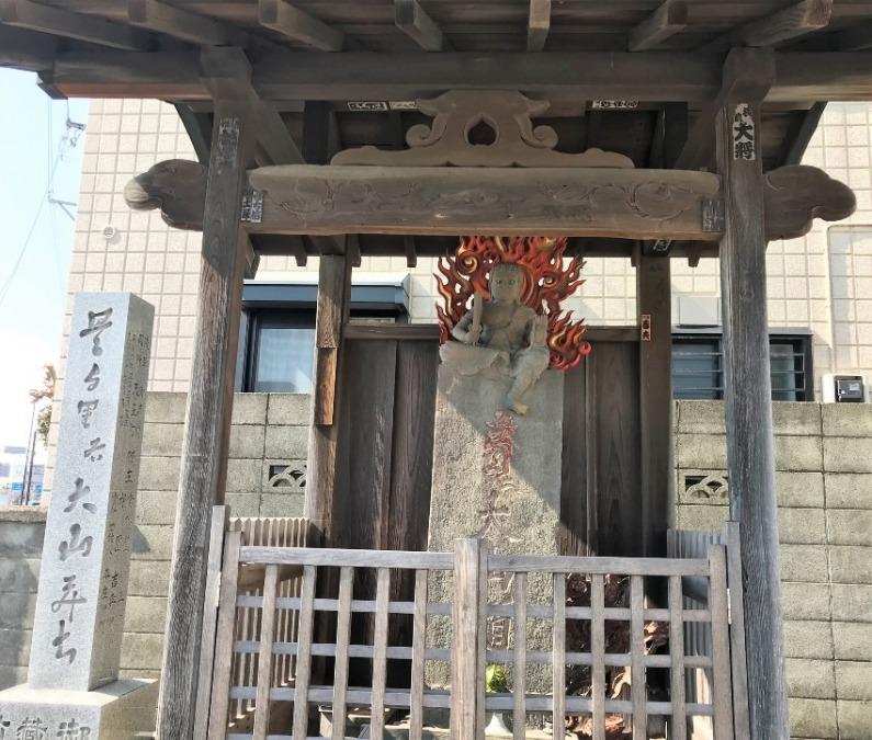 東海道・四ツ谷立場(四谷不動)