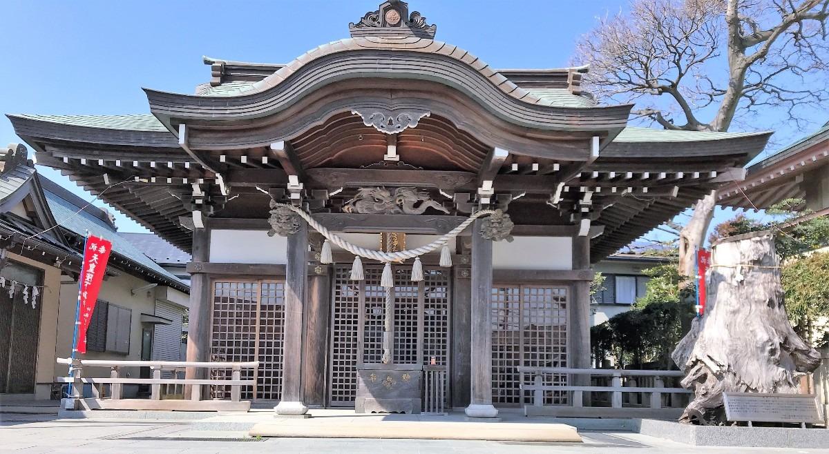 辻堂諏訪神社・上社下社両方を祀る「両諏訪神社」~鎌倉時代から戦前、そして現代まで見守る~