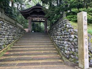 尾山神社の東神門