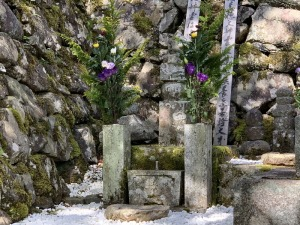 明智煕子の墓