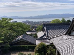 西教寺からの琵琶湖を望む