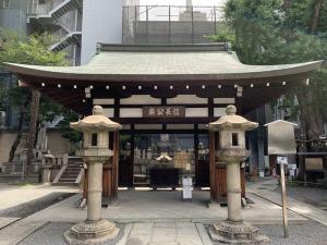 信長公御廟所拝殿