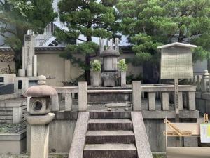 本能寺 織田勢の供養塔