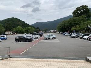 白山比咩神社の駐車場