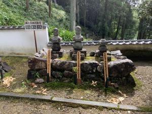 森坊丸の墓、森蘭丸の墓、森力丸の墓