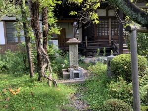 斎藤道三の供養塔
