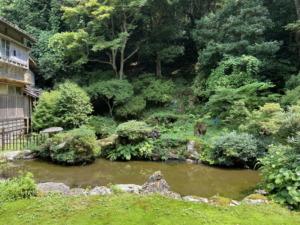 上時国家の庭園